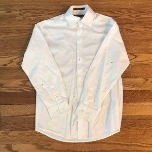 Michael Kors Boys White Dress Shirt Size 12